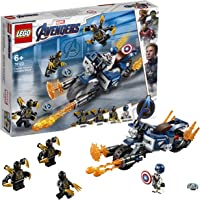 Lego Captain America: Outriders Attack (Multi Color 76123)