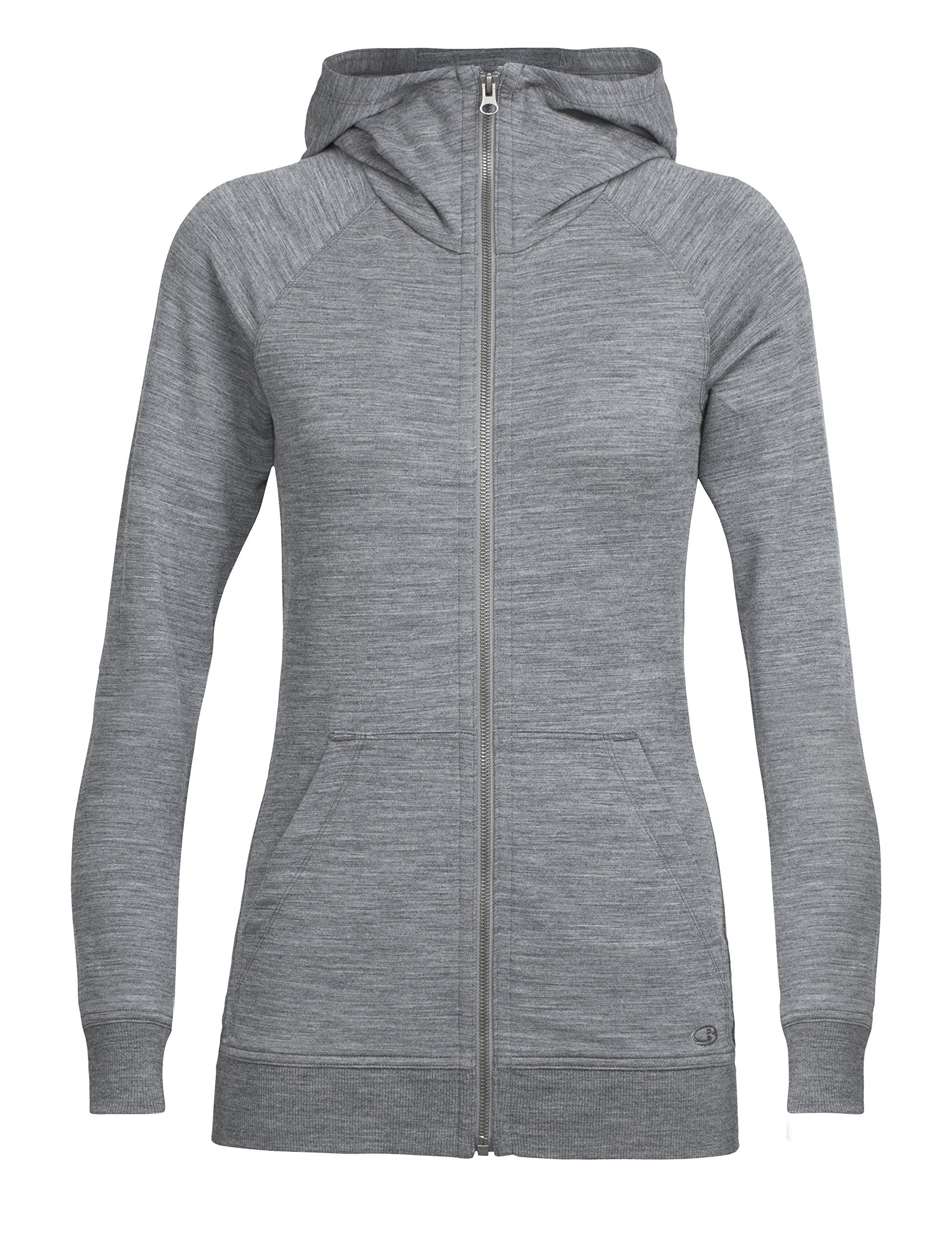 913 B0WSvQL - Icebreaker Women's Crush Long Sleeve Zip Hoodie