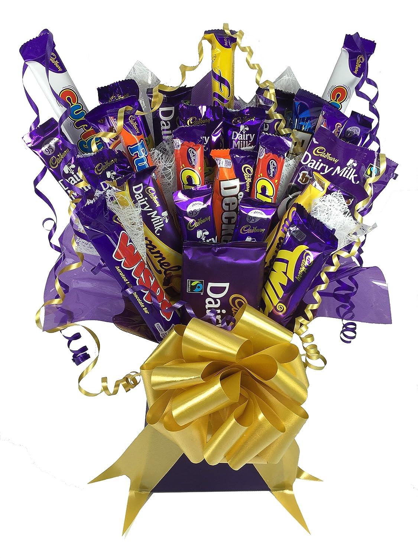Cadburys Chocolate Bouquet Large 21 Piece Tree Explosion Gift ...