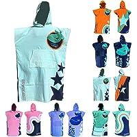 Team Magnus kids' towel and robe – bath towels for boys & girls 4'-5'6