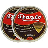 Dazlo Handmade Shoe Wax Polish - Brown (2x40g)