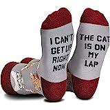 Cavertin Women's and Men's Novelty Socks with Gift Box
