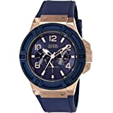 Guess Casual Watch For Men Analog Silicone - W0247G3, Quartz Movement