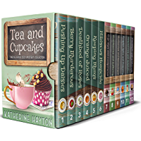 Tea and Cupcakes: Twelve Book Cozy Mystery Collection (Colossal Cozy Collections 1) (English Edition)