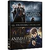 Animales Fantasticos Y Como Encontrarlos + Animales Fantásticos: Los Crímenes De Grindelwald [DVD]