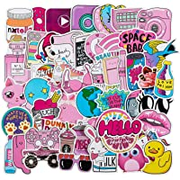 Rapidotzz 50 Pack Girl Cute Lovely Laptop Stickers Water Bottle Skateboard Motorcycle Phone Bicycle Luggage Guitar Bike Sticker Decal 50 Stickers