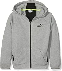 Puma Kinder Sports Style Hooded Jacket Jacke