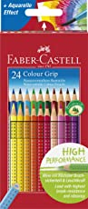 Faber-Castell 112424 - Farbstift Colour Grip Kartonetui 24er