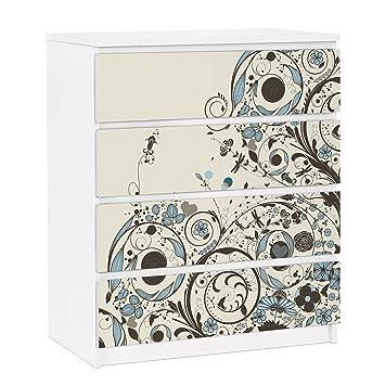 pellicola adesiva per mobili ikea - malm dresser 4xdrawers ... - Mobili Per Vinili Ikea