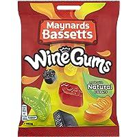 Maynards Bassetts Wine Gums Sweets Bag, 190 g
