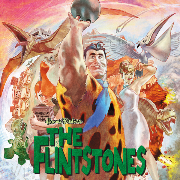 The Flintstones (2016-2017) (Collections) (2 Book Series) -
