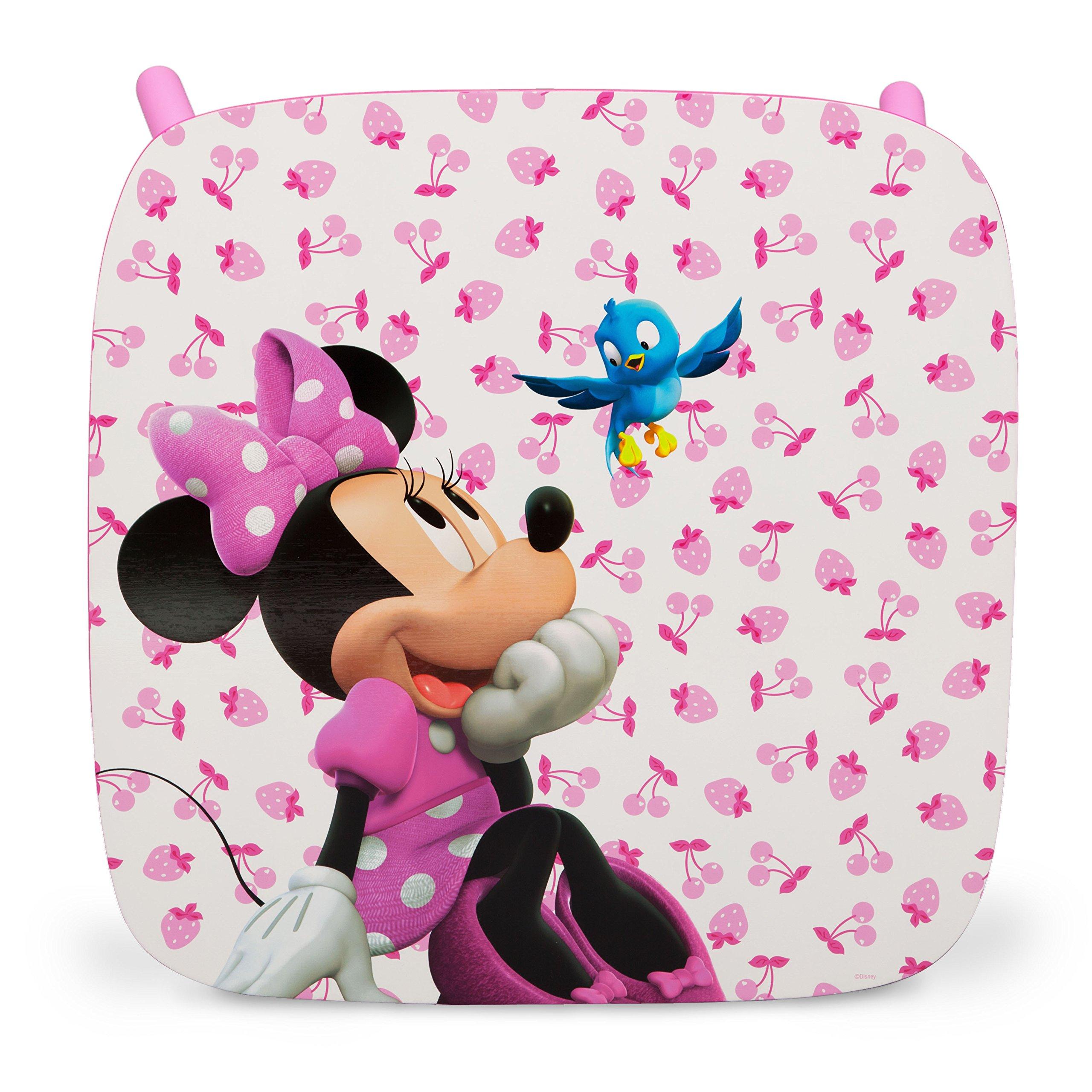 ecb342381b Disney - Set Tavolo con 2 sedie per bambini Minnie Mouse - Giochi Legno