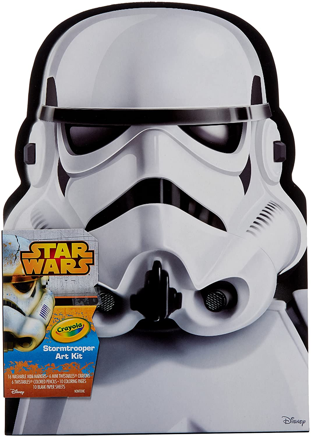 crayola storm trooper art case toy amazon co uk toys u0026 games