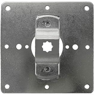 Rollladenmotor Motorenplatte Montageplatte Platte 107,5mm