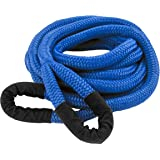"""DitchPig 448511 Kinetic Energy Vehicle Recovery Double Nylon Braided Rope with Mesh Bag, 3/4"""" x 20'"""