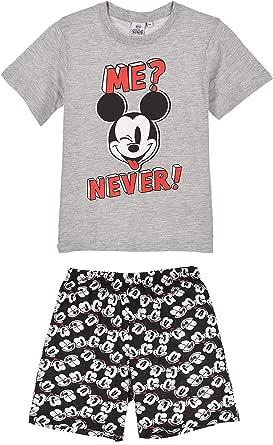 Mickey Mouse Boys Short Pajamas