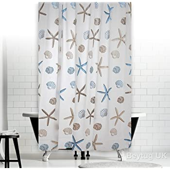 LikeYou Extra Long PVC Free Bathroom Liner Environmentally Non Toxic Shower Curtain PEVA Waterproof And Mildew