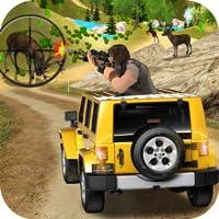 Jeep Rotwild-Jagd-Dschungel-Spaß