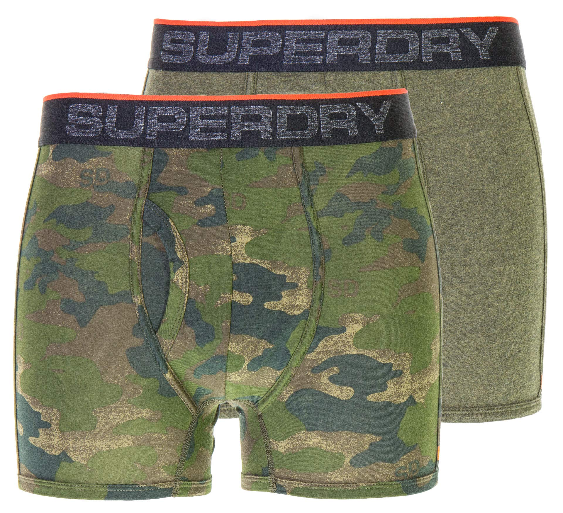 Superdry Sport Boxer Trunks Twin Pack ALL SIZES