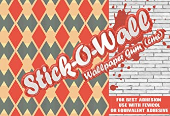 Stick O Wall Plastic Super CMC Wallpaper Adhesive Glue (30 Rolls, 1kg)