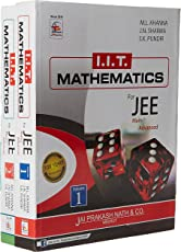 IIT Mathematics For JEE (Main & Advanced) (Set Of 2 Volumes) (Paperback)