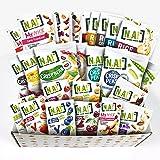 Nature Addicts Box Découverte Mixte Sucré/Salé de 13 Références Sucrées aux Fruits/12 Références Salées de Biscuits Apéritifs