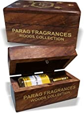 Parag fragrances Woods Collection Dehnal Oud Attar, 6ml