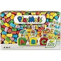PlayMais Fun to Learn ABC Jeu de Construction pour Les Enfants de 3 Ans et Plus I kit de Bricolage avec 500 pièces I…