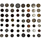 Novelty Collections-55 World Coins(Minimum 24 Countries)-All Different