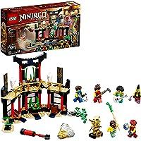 LEGO 71735 Ninjago Le Tournoi des éléments Jeu de Construction avec arène de Combat et Figurine de Ninja Lloyd Or à…