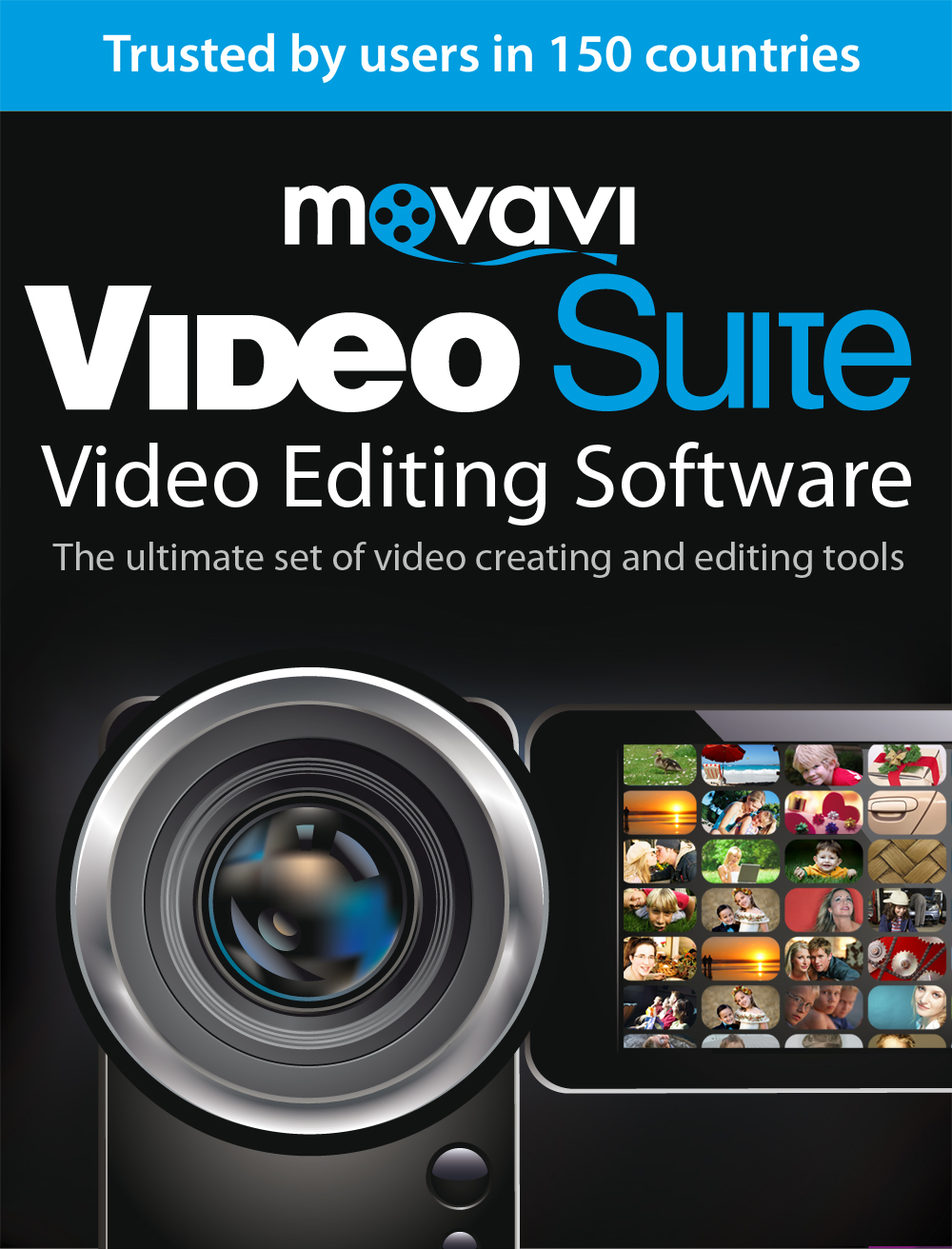 Price comparison product image Movavi Video Suite 15 Video Editing Software Personal [Download]