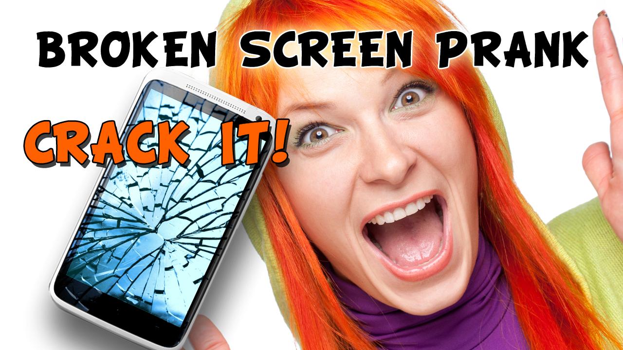 Zoom IMG-3 broken screen prank crack it