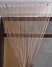HFI 1 Piece Polyester Threads String Curtain