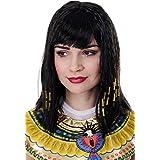 WIG ME UP Cleopatra, Diva Hollywood, per Carnevale o Halloween