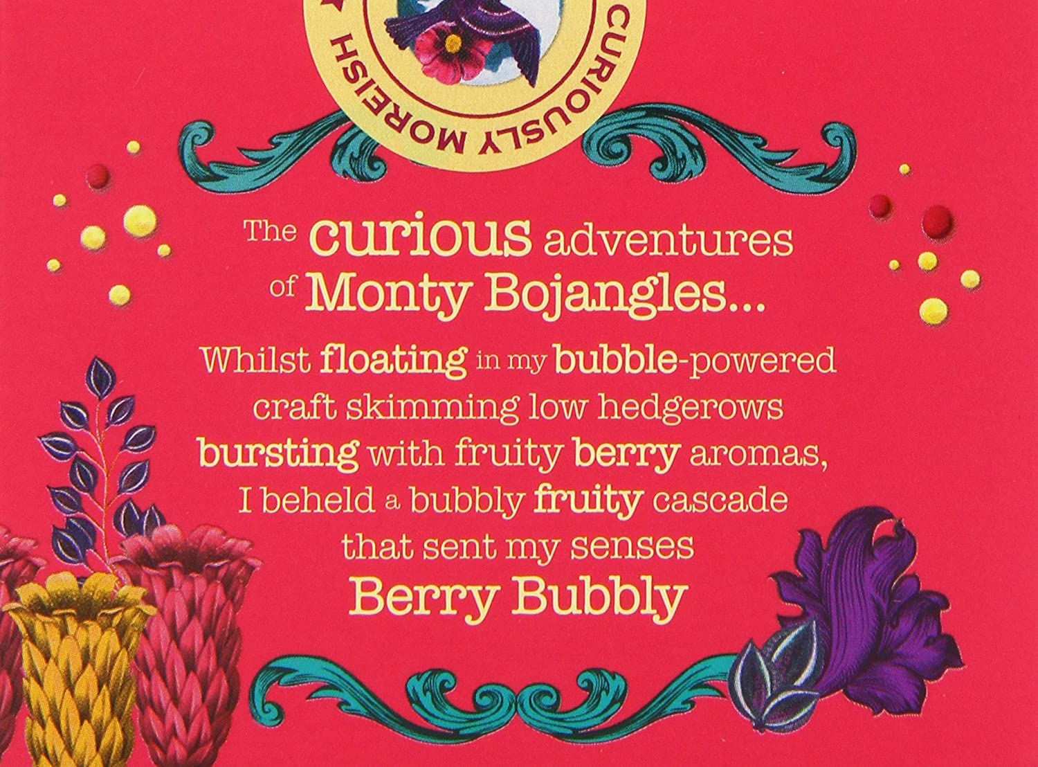 monty bojangles french dusted truffles berry bubbly 150 g pack of