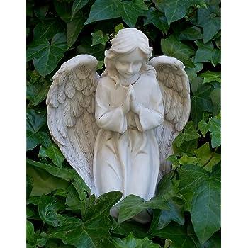 Engel betend aus Polyresin 24 cm