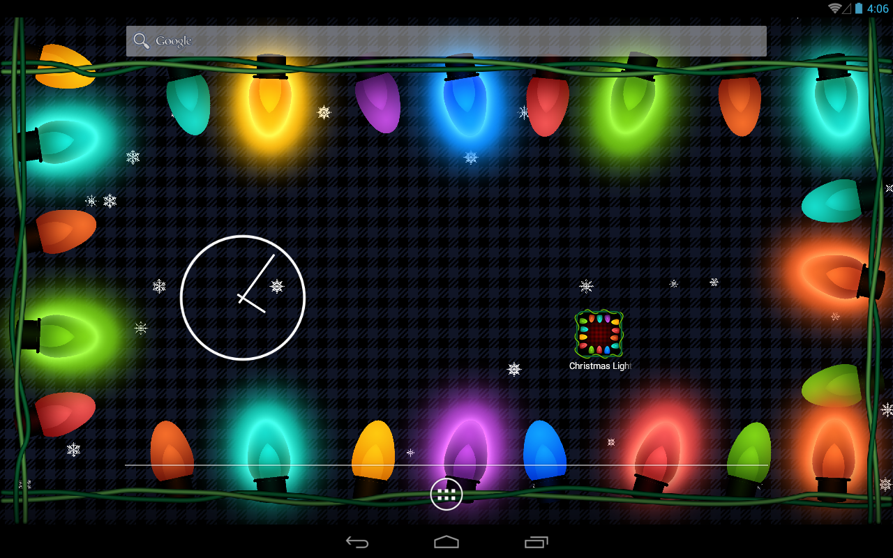 Christmas Lights Hd Wallpaper Amazoncouk Appstore For