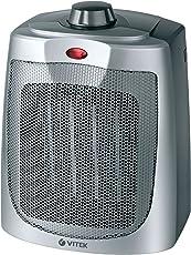 VITEK VT-1758 SR-I 2000 Watts PTC Fan Heater (Silver)