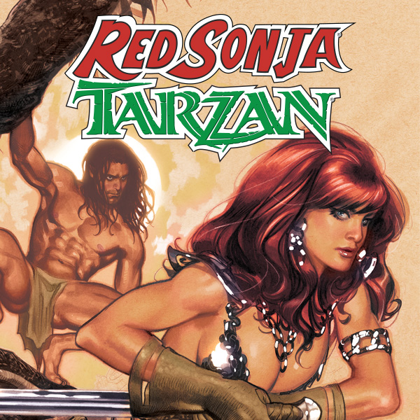 Red Sonja/Tarzan (Issues) (3 Book Series)