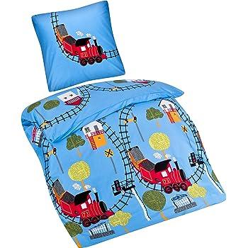 Aminata Kids süße Kinderbettwäsche Jungen-Kinder