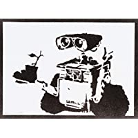Wa. -E Poster Handmade Graffiti Street Art - Aesthetic Artwork