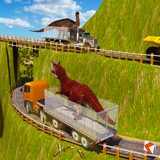 Wütender Dino-Transport-LKW-Simulator 3D: Tiertransporter-wilde Dinosaurier-Spiele (Spiele Dinosaurier Dinosaurier)