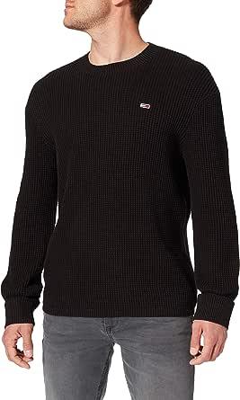 Tommy Jeans Men's TJM Honeycomb Sweater