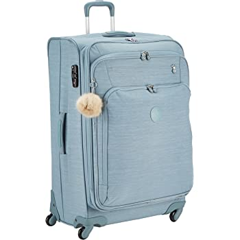 6b012510f95 Kipling Youri Spin 78, Spinner, 78 cm, 99 liters, Blue (Dazz Soft Aloe)
