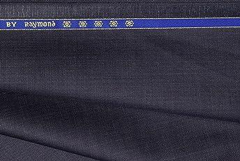 Raymond Men's Unstitched Poly Viscose Trouser Fabric Blue_1.3 M