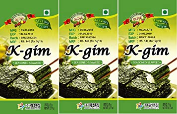 Olive Green Tea Seaweed 5g*9