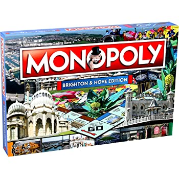 Brighton Hove Monopoly Board Game Amazoncouk Toys Games - Board game design software
