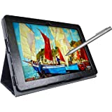 Simbans PicassoTab 10 Pouces Tablet Art Graphique Dessin Tablette avec Stylus Pen [3 Bonus Objets] Android 9 Pie, 10.1 Pouces IPS, Quad Core, HDMI, 2M+5M Camera, GPS, WiFi, Bluetooth, USB