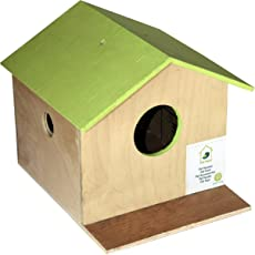 PetNest Bird House Nest Box for Sparrow, Budgies and Finches for Bird Breeding