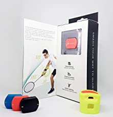 Actofit Badminton Tracker | Measures Swing Speed, Radian, Strength | Identifies Shot | Progress Maps